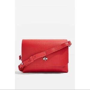 Topshop OTLEY Red Cross Body Bag